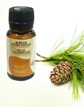 Huile Essentielle de Bois de Cèdre par Atlas Cosmetics